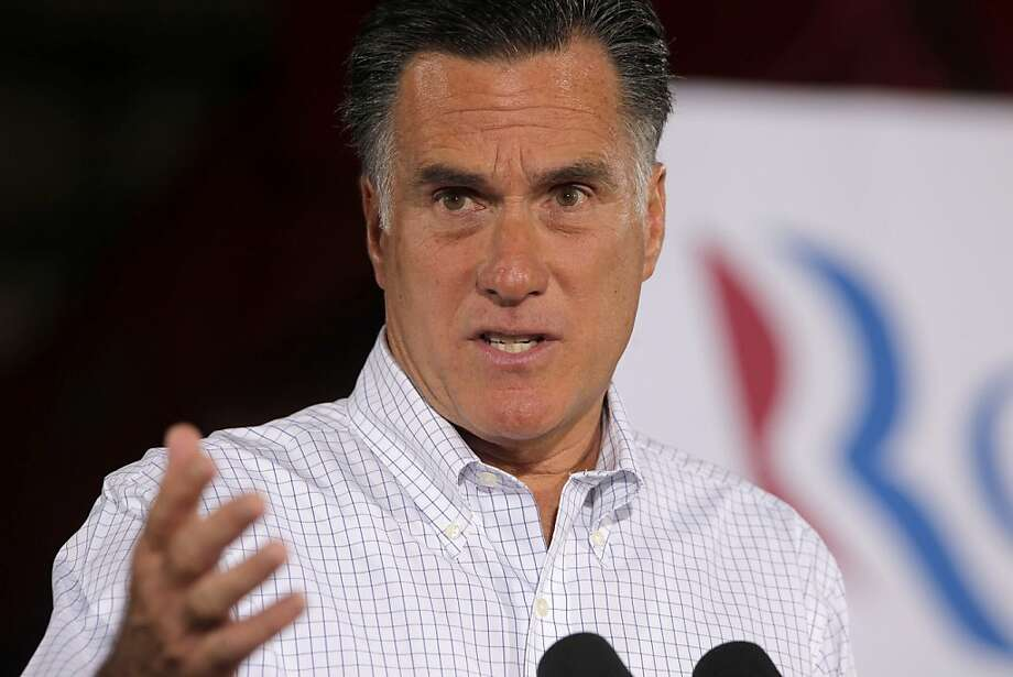 Mitt Romney opposes more stimulus plans. Photo: Charles Dharapak, Associated Press