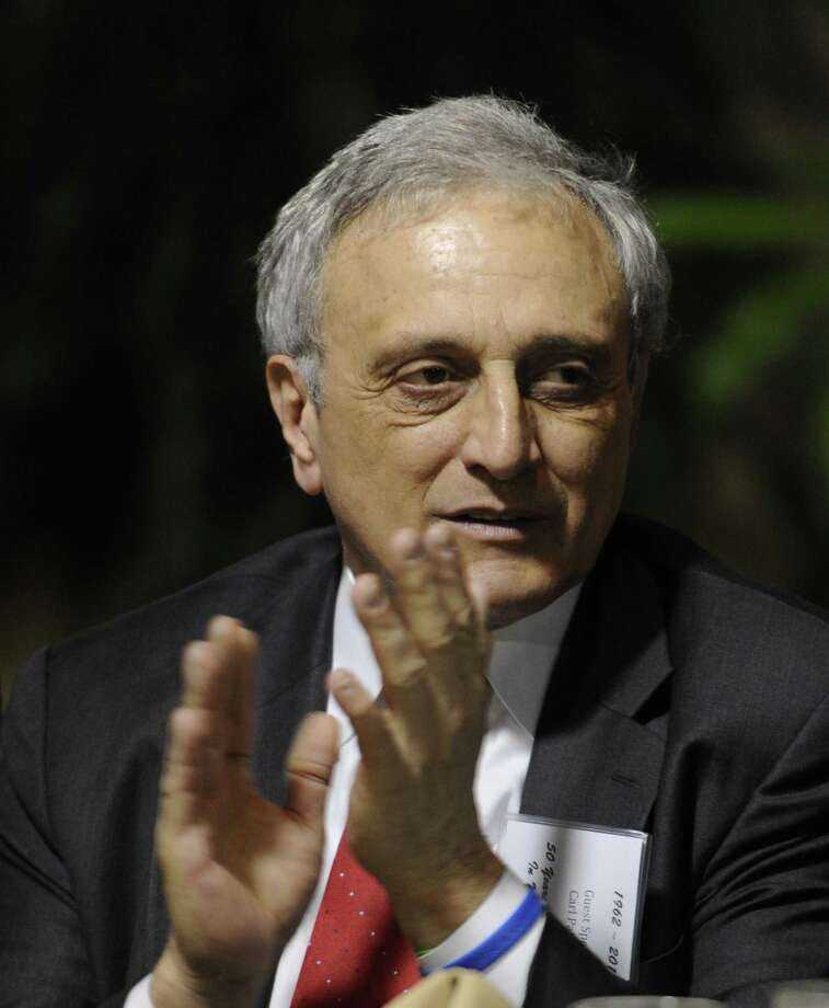 Carl Paladino, the Buffalo businessman and former Republican candidate for governor in New York, attended the NYS Conservative Party luncheon at the Holiday Inn in Colonie, N.Y. Jan. 30, 2012.  (Skip Dickstein/Times Union) Photo: Skip Dickstein / 2011