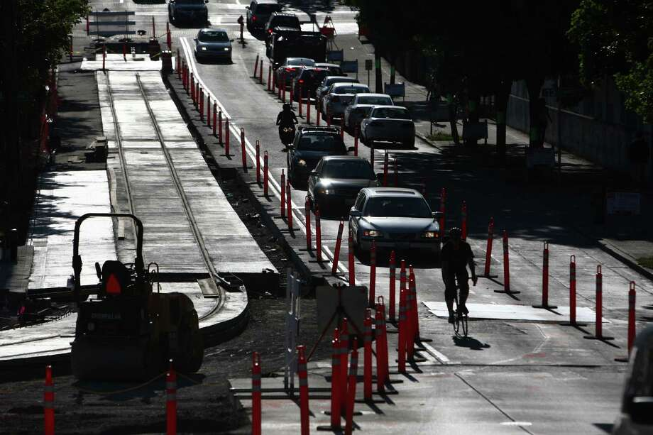 Transportation projects paid for partially by the Federal Transit Administration will be affected because they may not get the money they need on time. Some of those projects include the Auroroa Rapid Ride improvements, Third Avenue Corridor improvements, the Seattle Center City Transit Alternatives analysis and the King Street Station, according to the Seattle Department of Transportation. Photo: JOSHUA TRUJILLO / SEATTLEPI.COM