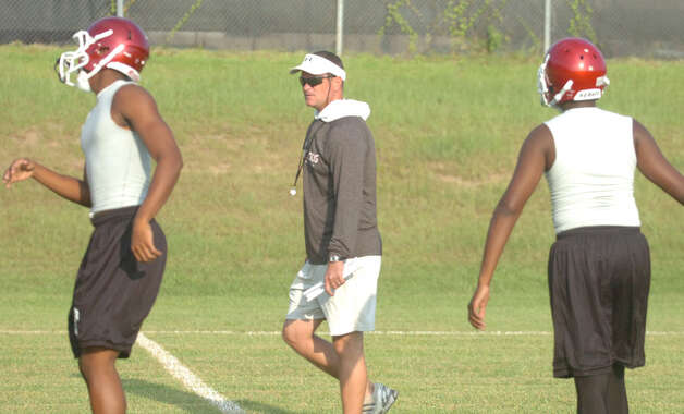 Darrell Barbay is in his first year at the helm of the Jasper Bulldog football program. Photo: Jimmy Galvan