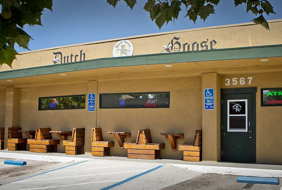 The exterior of the Dutch Goose in Menlo Park, Calif., is seen on Thursday, August 2nd, 2012.