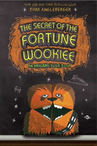 "Cover to ""The Secret of the Fortune Wookiee"" by Tom Angleberger, the third book in his Origami Yoda series. (Amulet Books, $12.95) Photo: Amulet Books"