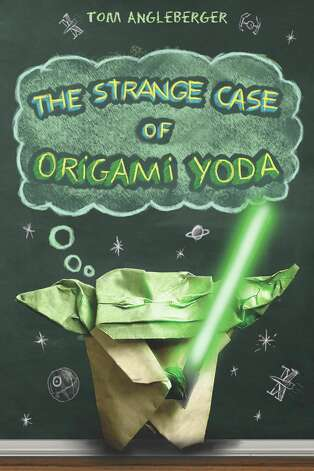 "Tom Angleberger's other books include ""The Strange Case of Origami Yoda"" and ""Darth Paper Strikes Back."" Photo: Handout"