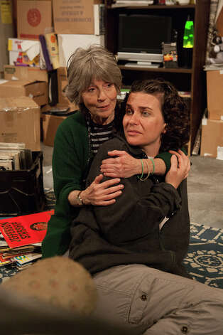 "Janie Tamarkin (left) and Fairfield University professor Mariah Sage are starring in ""Salvage"" a new play that is being featured in the New York International Fringe Festival starting Aug. 14. Photo: Contributed Photo / Connecticut Post Contributed"