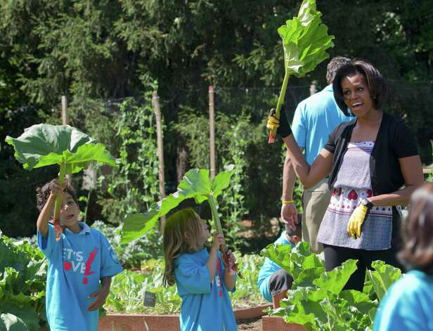 Even first lady Michelle Obama's focus on nutrition and gardening has drawn criticism. First ladies histroically have found the position is a mixed blessing, and they can never satisfy everyone. Photo: Evan Vucci, Associated Press / AP