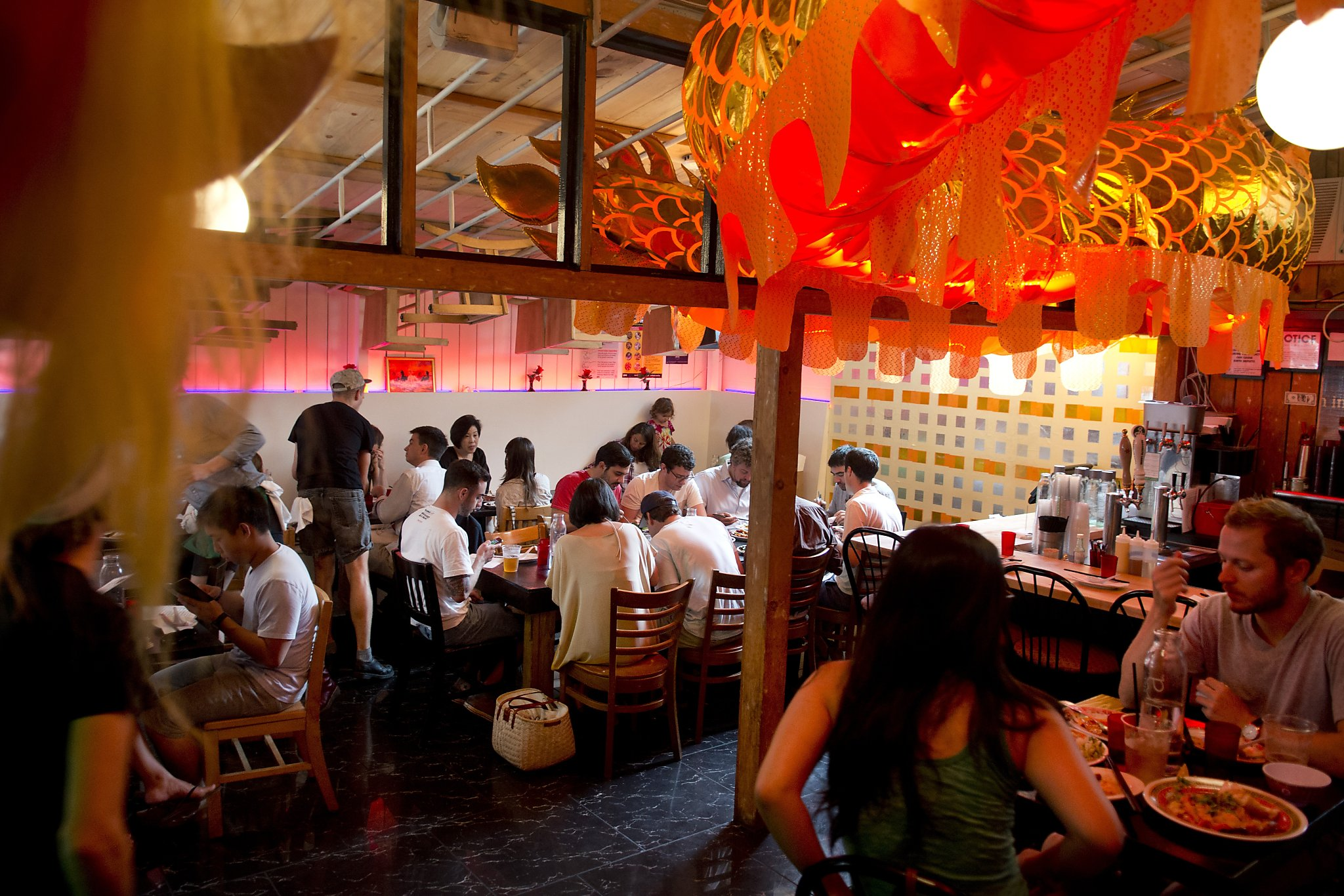 Mission Chinese Builds On S F In N Y Sfgate