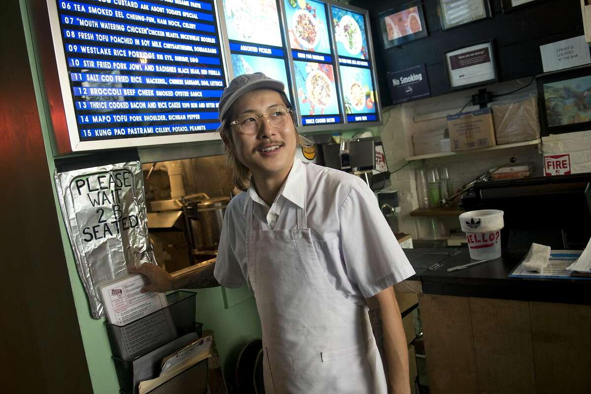 Chef Danny Bowien in New York.