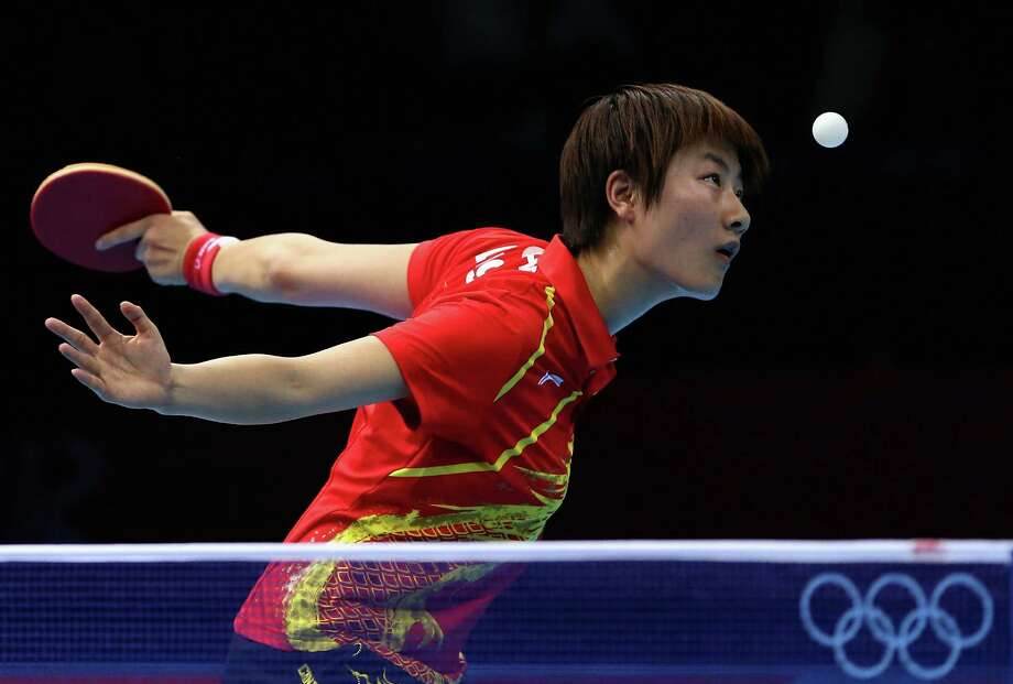 LONDON, ENGLAND - AUGUST 06:  Ning Ding of 