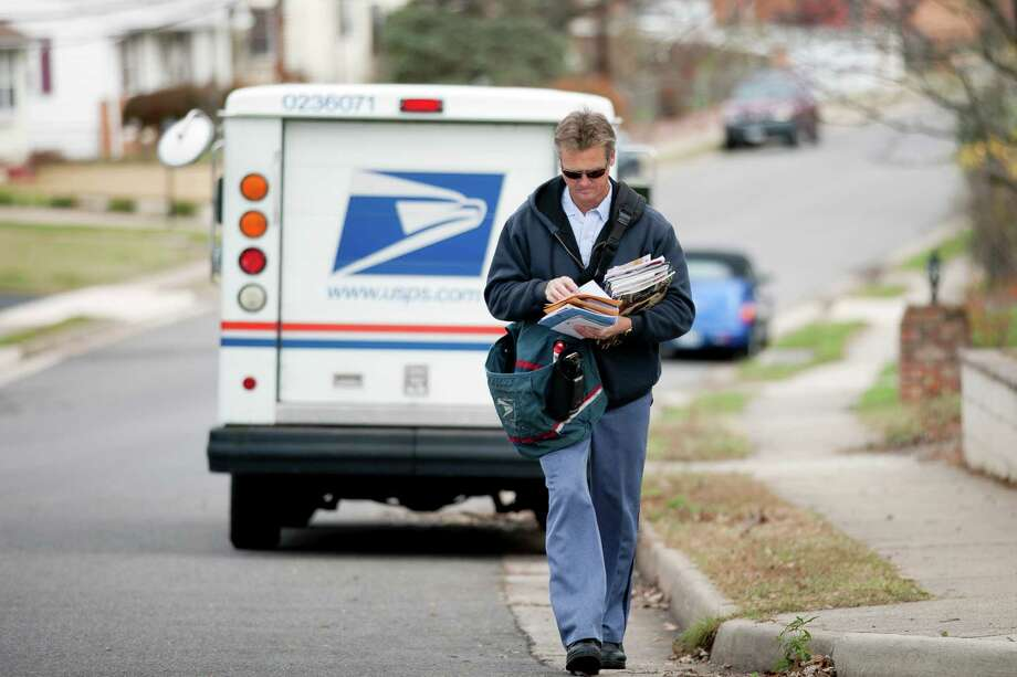 U.S. Postal Service First-Class Mail Service: December 20 Photo: Andrew Harrer, Bloomberg / © 2011 Bloomberg Finance LP