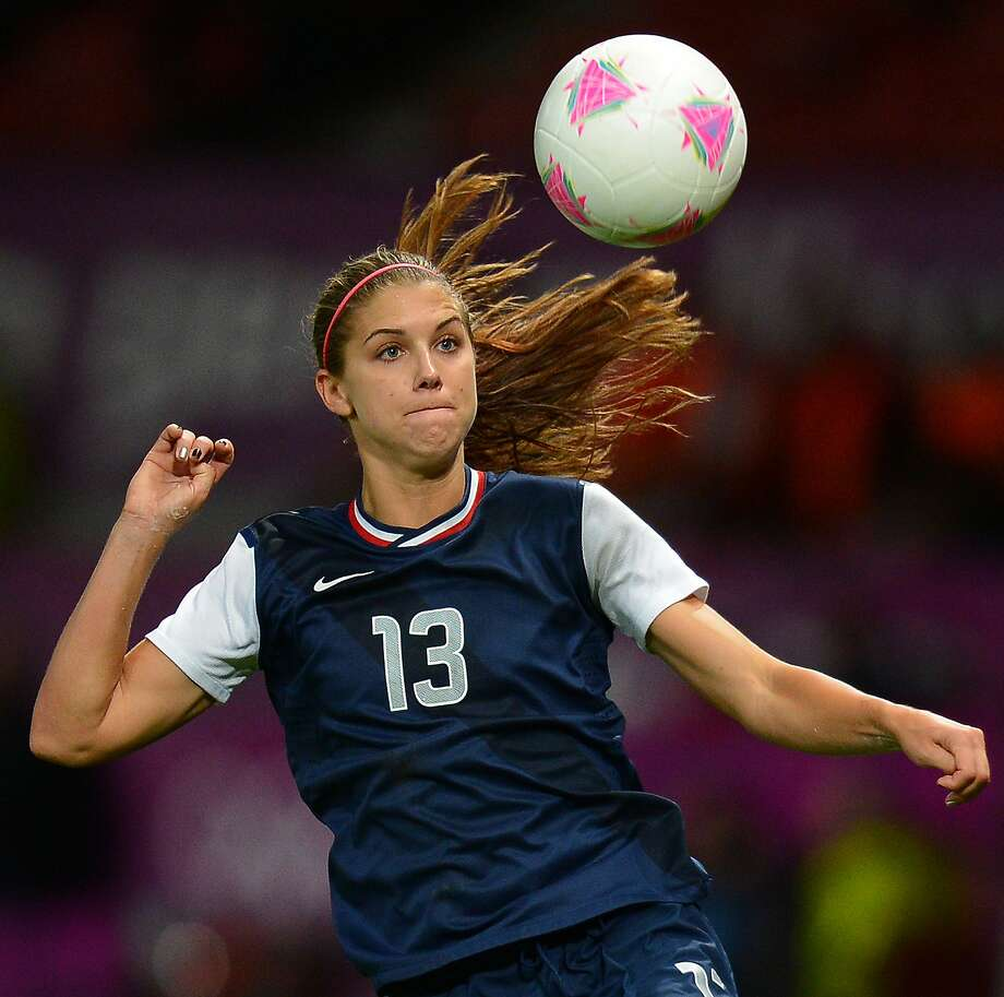 U.S. Women's National Team standout Alex Morgan has more than 1 million fans following her on Twitter, tops among American soccer players. Photo: Andrew Yates, AFP/Getty Images