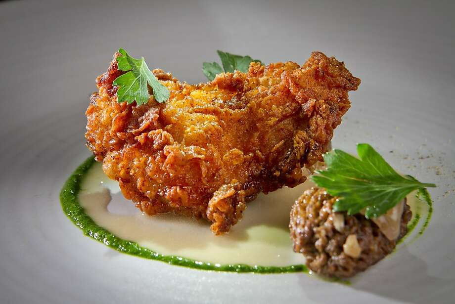 The chicken-fried quail is one of chef Joseph Humphrey's riffs on Southern and California cuisine at his Dixie restaurant. Photo: John Storey, Special To The Chronicle