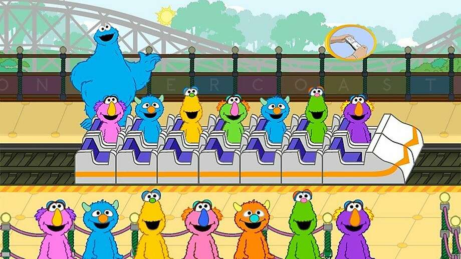 """""""Cookie's Counting Carnival"""" is a Sesame Street game to help children ages 2-4 learn how to do math. Photo: Warner Bros. Entertainment"""
