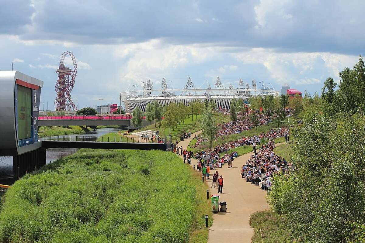 The lead designer for the landscape of London's Olympic Park was Hargreaves Associates, a San Francisco-based landscape architecture firm best known in the Bay Area for its work at Crissy Field.