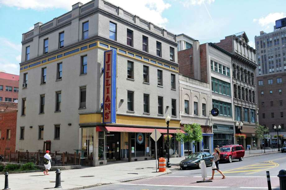 View of Jillian's, and  R Bar, to the right, on North Pearl Street on Monday Aug. 6, 2012 in Albany, NY.    (Philip Kamrass / Times Union) Photo: Philip Kamrass / 00018741A