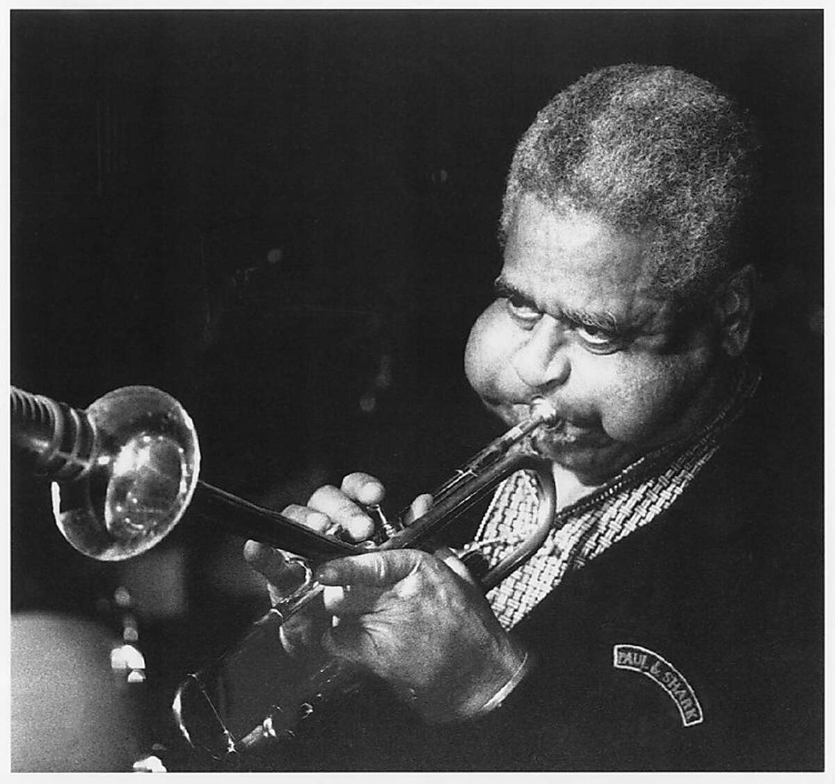 Dizzy Gillespie performing at Yoshi's Oakland in the 80s.