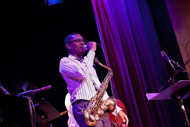Ravi Coltrane with his band the Ravi Coltrane Quartet at Yoshi's jazz club in Oakland, Calif. on Monday, Aug 06, 2012. Photo: Sonja Och, The Chronicle