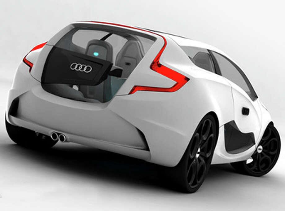Audi O concept car.  Photo: Cnmarcos, flickr