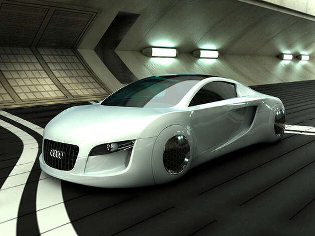 Audi RSQ concept car.  Photo: Adam Crowe, Flickr