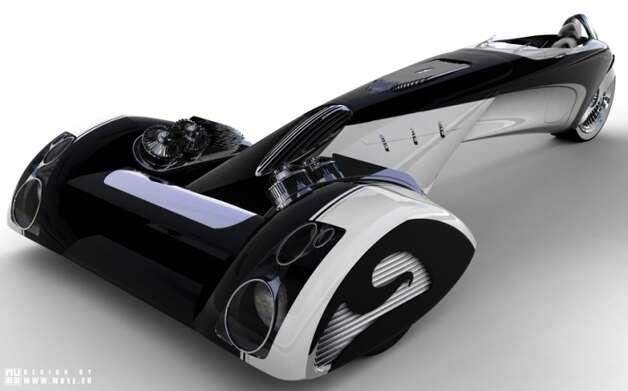 Peugeot Egochine Concept Car.  Designed by: Paolo De Giusti