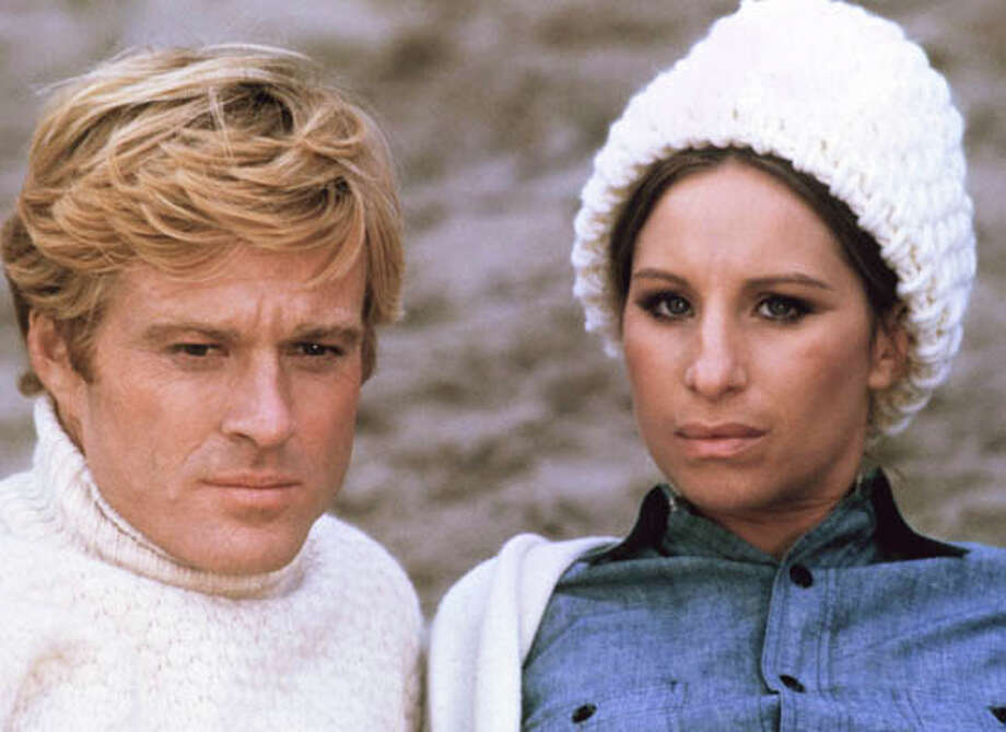 """The Way We Were"" (1973) - Robert Redford and Barbara Streisand Columbia Tri-Star Photo: ."
