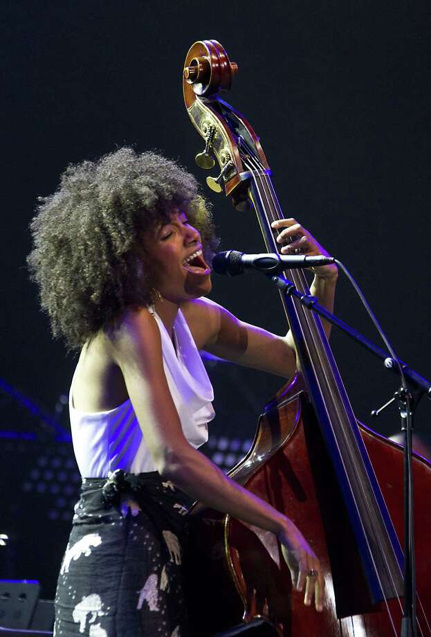 US bass player Esperanza Spalding performs at the North Sea Jazz Festival, in Rotterdam, on July 7, 2012. AFP PHOTO / ANP / PAUL BERGEN  *** netherlands out - belgium out ***PAUL BERGEN/AFP/GettyImages Photo: PAUL BERGEN, AFP/Getty Images / AFP