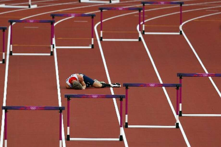 This is one hurdle that wasn't topped.  (Getty)