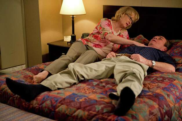 "Meryl Streep and Tommy Lee Jones star in ""Hope Springs."" Photo: Columbia Pictures / © 2011 GHS Productions, LLC. All rights reserved.  **ALL IMAGES ARE PROPERTY OF SONY PICTURES ENTERTAINMENT INC. FOR PROMOTIONAL"