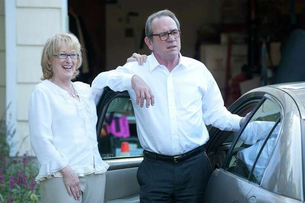 "Meryl Streep and Tommy Lee Jones star in ""Hope Springs."" Photo: --, HOPE SPRINGS / © 2011 GHS Productions, LLC. All rights reserved.  **ALL IMAGES ARE PROPERTY OF SONY PICTURES ENTERTAINMENT INC. FOR PROMOTIONAL"