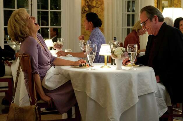 "Meryl Streep and Tommy Lee Jones star in ""Hope Springs."" Photo: --, HOPE SPRINGS / © 2012 GHS Productions, LLC. All Rights Reserved **ALL IMAGES ARE PROPERTY OF SONY PICTURES ENTERTAINMENT INC. FOR PROMOTIONAL U"
