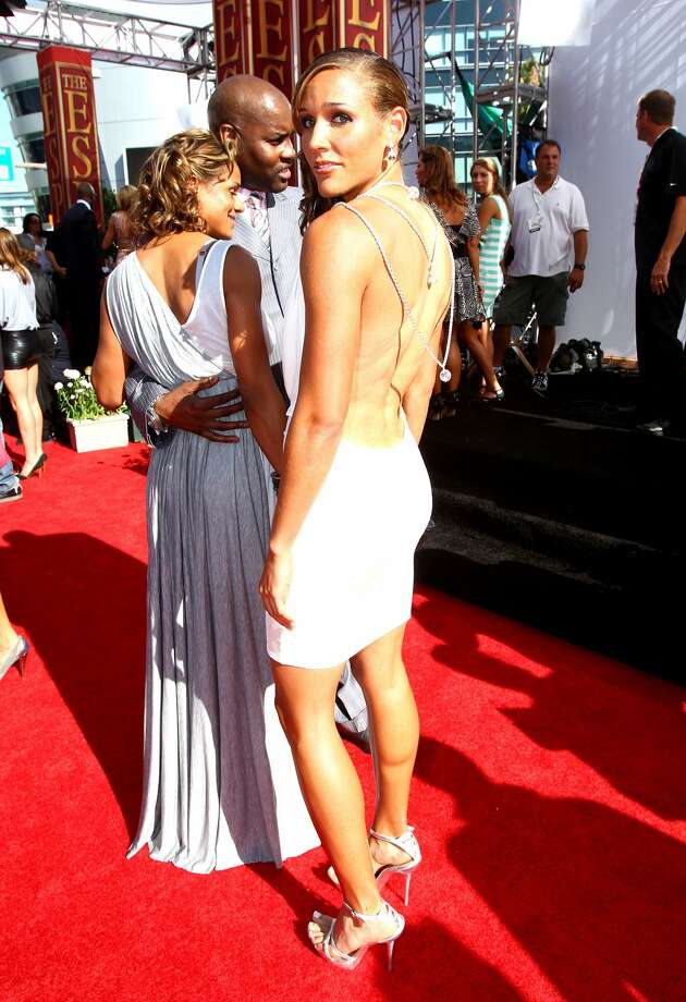 US track athlete Lolo Jones arrives at the 2010 ESPY Awards at Nokia Theatre L.A. Live on July 14, 2010, in Los Angeles, Calif.  (Photo by Alexandra Wyman/Getty Images for ESPY) (Alexandra Wyman / 2010 Getty Images)