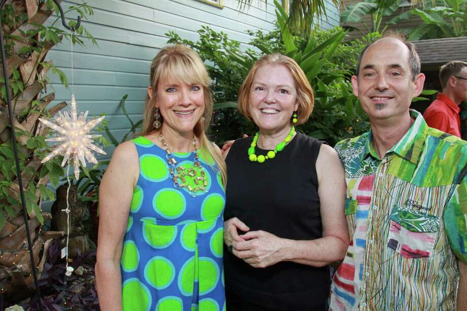 Jill Whitten, from left, Kim Davenport  and Rob Proctor Photo: Gary Fountain / Copyright 2012 Gary Fountain.