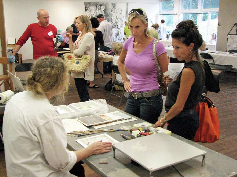 The Silvermine School of Art open house is slated Aug. 30. Photo: Contributed Photo