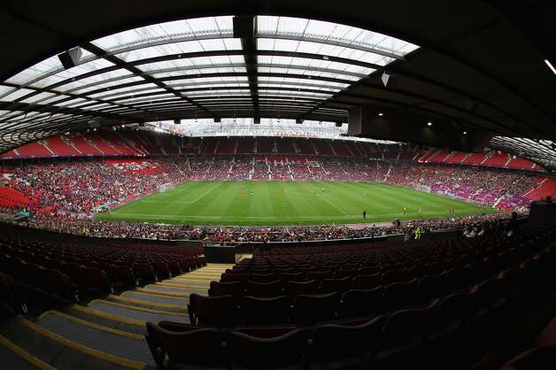 MANCHESTER, ENGLAND - JULY 31:  General view of empty seats during the Women's Football first round Group G match between the United States and DPR Korea,on Day 4 of the London 2012 Olympic Games at Old Trafford on July 31, 2012 in Manchester, England.  (Photo by Stanley Chou/Getty Images) (Stanley Chou / Getty Images)