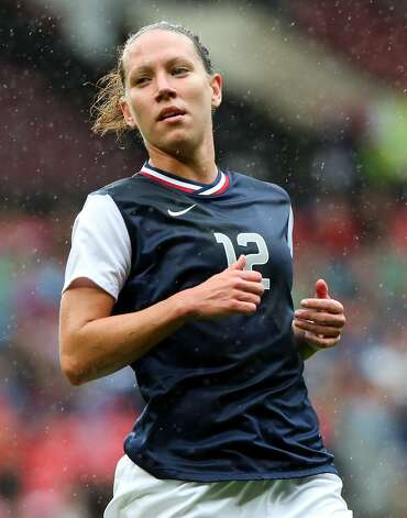 MANCHESTER, ENGLAND - JULY 31:  Lauren Cheney of USA runs during the Women's Football first round Group G match between the United States and DPR Korea on Day 4 of the London 2012 Olympic Games at Old Trafford on July 31, 2012 in Manchester, England.  (Photo by Stanley Chou/Getty Images) (Stanley Chou / Getty Images)