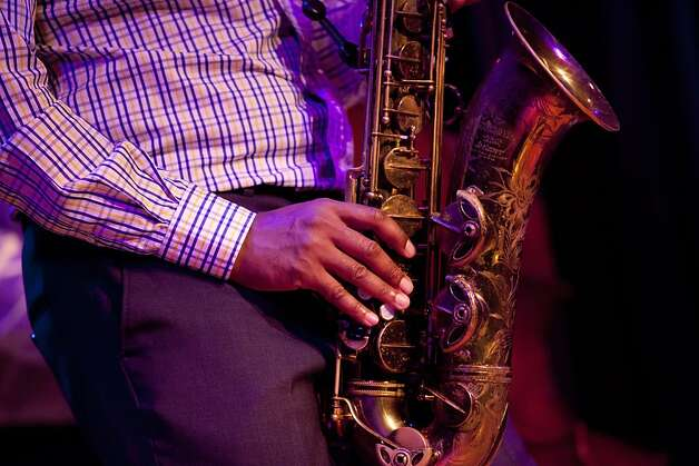 Ravi Coltrane plays his Saxophone at Yoshi's jazz club in Oakland, Calif. on Monday, Aug 06, 2012. Photo: Sonja Och, The Chronicle