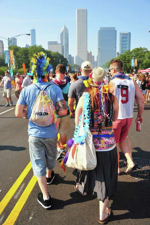 CHICAGO, IL - AUGUST 03:  Festival atmosphere during 2012 Lollapalooza at Grant Park on August 3, 2012 in Chicago, Illinois. Photo: Theo Wargo, Getty Images / 2012 Getty Images