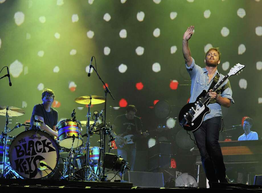 CHICAGO, IL - AUGUST 03: Patrick Carney and Dan Auerbach of The Black Keys performs during 2012 Lollapalooza at Grant Park on August 3, 2012 in Chicago, Illinois. Photo: Theo Wargo, Getty Images / 2012 Getty Images