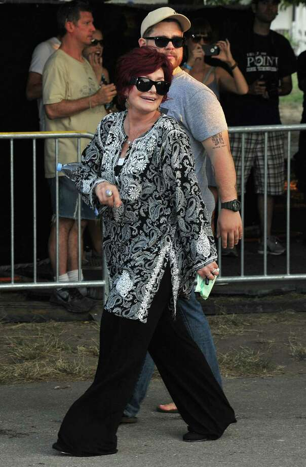 CHICAGO, IL - AUGUST 03:  Sharon Osbourne and Jack Osbourne attend 2012 Lollapalooza at Grant Park on August 3, 2012 in Chicago, Illinois. Photo: Theo Wargo, Getty Images / 2012 WireImage