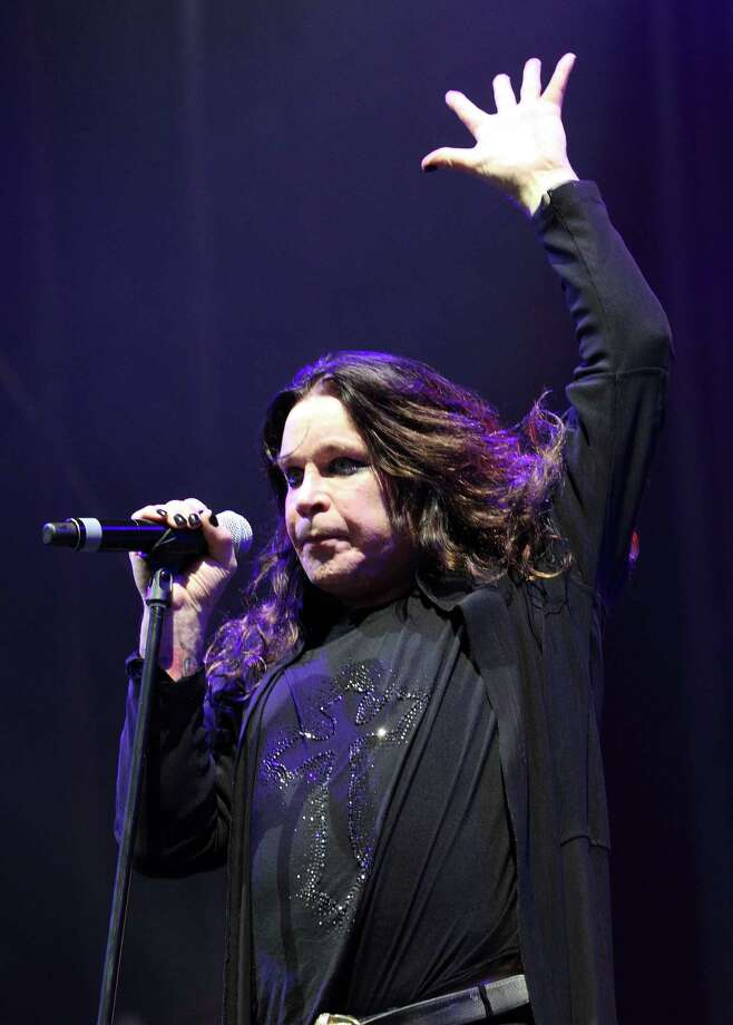 Ozzy Osborne of Black Sabbath performs at the Lollapalooza music festival on opening day in Chicago's Grant Park on Friday, Aug. 3, 2012. (Photo by Steve C. Mitchell/Invision/AP) Photo: Steve Mitchell/Invision/AP