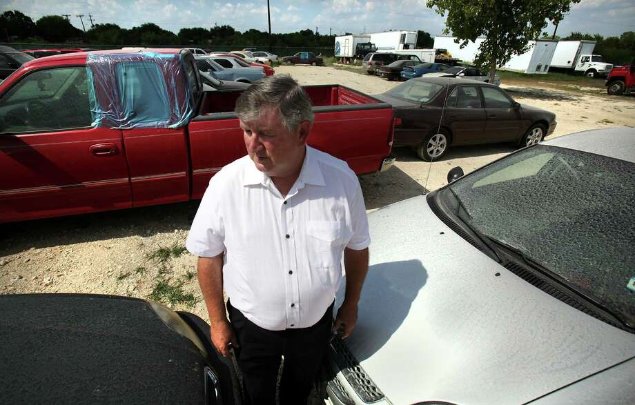 John D. DeLoach, former owner now employee of Bexar Towing, who was arrested Friday Aug. 3 for not lowering the company's towing charges to the city's mandated $85.  Tuesday, Aug. 7, 2012. Photo: BOB OWEN, San Antonio Express-News / © 2012 San Antonio Express-News