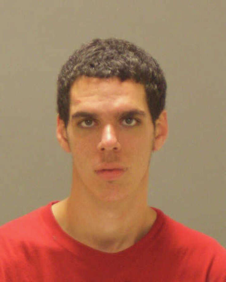 Tyler A. Wilson, of Greenwich, was charged with two counts of first-degree criminal mischief, and three counts each of interfering with an officer and assault on a police officer after an incident Friday, Aug. 3, 2012, during which police used a Taser on him. Photo courtesy of Greenwich Police Photo: Contributed Photo