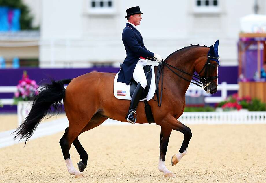 "Rafalca rider Jan Ebeling wants to be a role model: ""If it's just one more kid getting into dressage ... that would be wonderful."" Photo: Alex Livesey, Getty Images"
