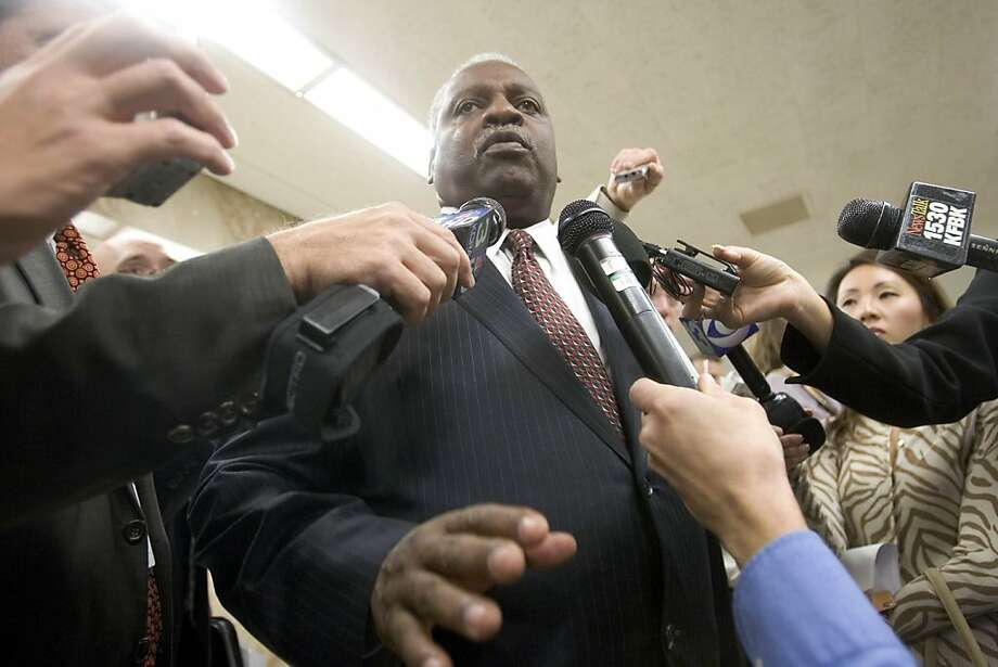 Assemblyman Sandré Swanson is the leader of the Assembly Select Committee on the Status of Boys and Men of Color, which will present its recommendations Wednesday. Photo: Robert Durell, Special To The Chronicle