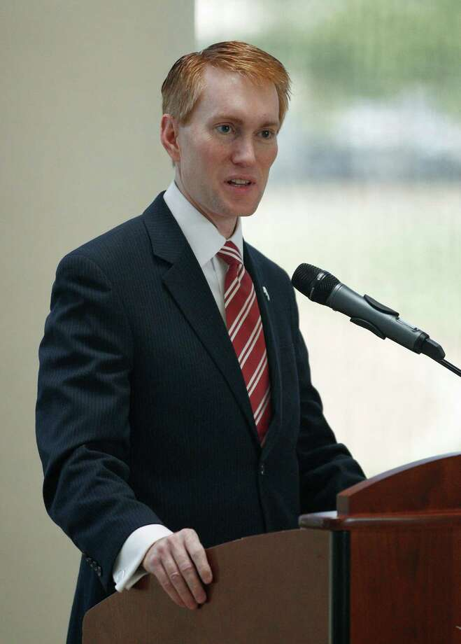 U.S. Rep. James Lankford, R-Oklahoma,in Oklahoma City, Friday, Aug. 12, 2011.  (AP Photo/Sue Ogrocki) Photo: Sue Ogrocki / AP