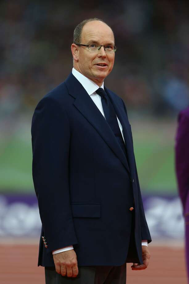 Prince Albert II of Monaco looks on during the medal ceremony on Day 11 of the London 2012 Olympic Games (Photo by Paul Gilham/Getty Images) (Paul Gilham / Getty Images)