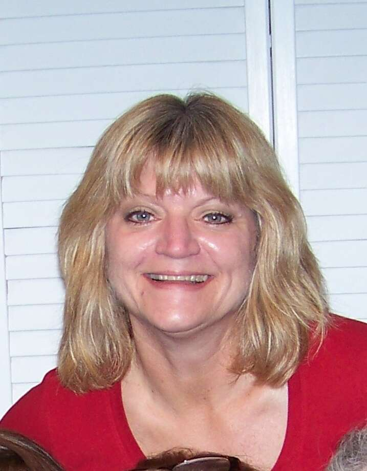 "I have been told, many times, that I resemble Goldie Hawn. Just this last year I traveled through Atlanta airport and this waitress kept saying, ""Uou look just like that lady from 'Overboard' "" and asked everyone in the restaurant if they thought so too. I am honored to look like such a lovely woman (Except for her lips... what the h*ll!) -- Michelle J. Geyer Photo: Michelle J. Geyer, Reader Submis"