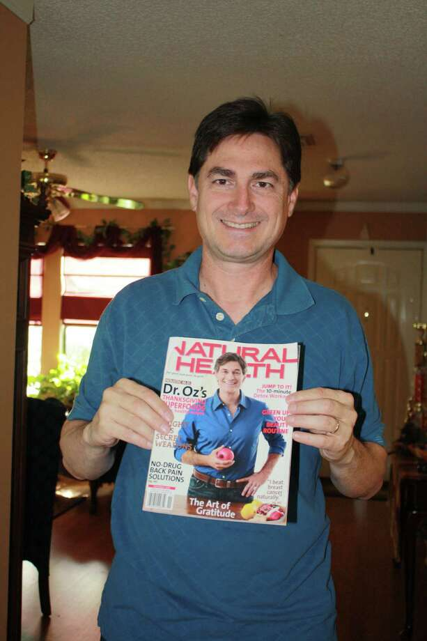 """Dr. Oz """"I get double takes at the airport, hospitals, Las Vegas, etc., and am asked if I'm Dr. Oz. One time I had just gotten into my car, when an older gentleman knocked on my window and asked if I was him. He said that his wife saw me and wanted to know. My wife and I get a kick out of it. I tell her that there's another Dr. Oz sighting."""" -- Bob McVicker Photo: Bob McVicker, Reader Submission"""