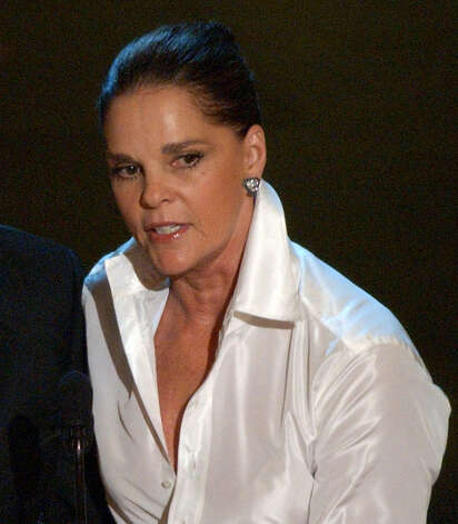 Ali MacGraw  Photo: KEVORK DJANSEZIAN, AP / AP