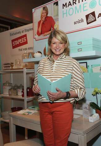 Martha Stewart (Photo by Diane Bondareff/Invision for Staples/AP Images) Photo: Diane Bondareff, Associated Press / Invision