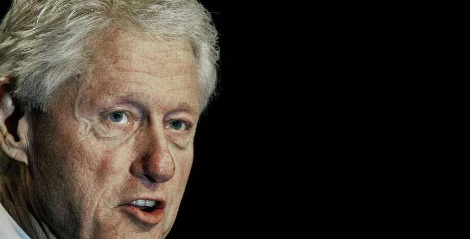 Former US President Bill Clinton PAUL J. RICHARDS/AFP/GettyImages Photo: PAUL J. RICHARDS, AFP/Getty Images / AFP
